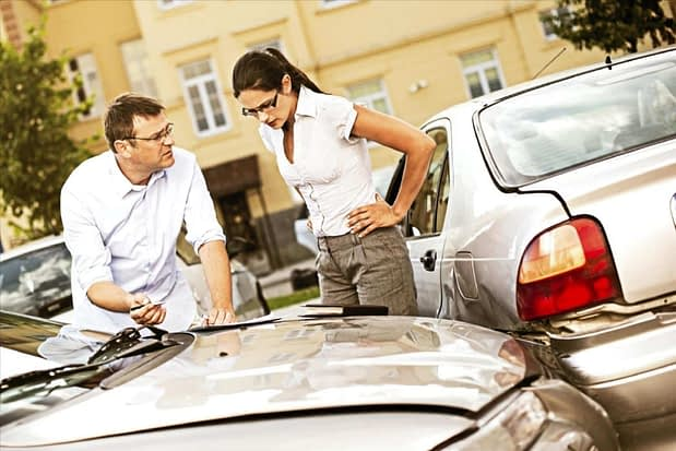 Auto accident - Texas auto insurance