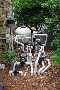 Pool pump heater