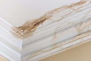 leaking pipe ceiling water damage
